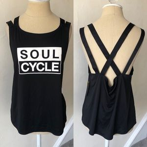 Soul Cycle Spinning Strappy Back Tank NWT